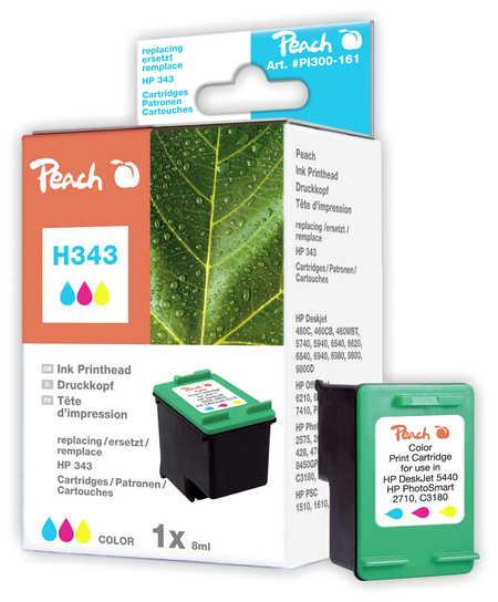 PI300-161 | Peach HP 343 color - inkoustová náplň barevná - C8766EE
