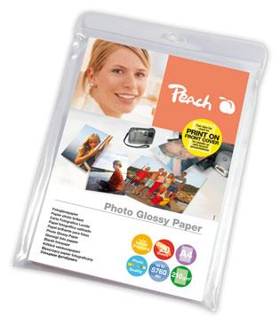 PIP100-05 | Lesklý fotopapír Peach, 210 g/m2 - A4 / 50 listů