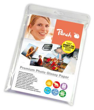 PIP100-02 | Lesklý fotopapír Peach Premium, 260 g/m2 - A4 / 50 listů
