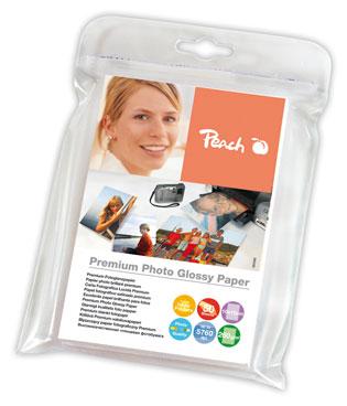 PIP200-03 | Lesklý fotopapír Peach Premium, 260 g/m2 - 10x15 cm / 50 listů