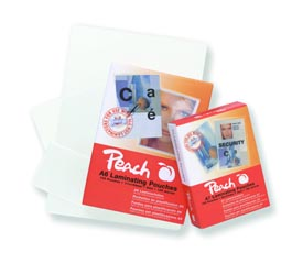 PP500-02 | Peach Laminovací kapsy A4 - 100 μm (50/50) - 100 ks