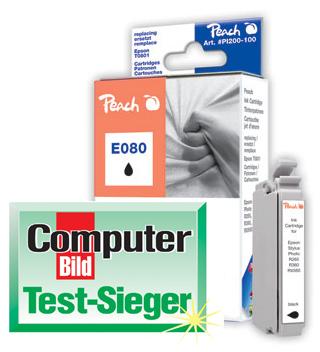 PI200-100 | Ink. náplň Peach kompatibilní s Epson T0801 černá (black)