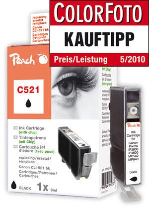PI100-81 | Peach Canon CLI-521BK - černá