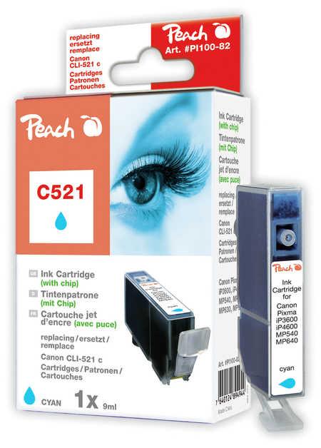 PI100-82 | Peach Canon CLI-521C - azurová