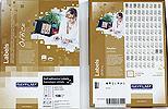 R0100.1123A | RayFilm bílé matné inkjet/laser/copy etikety (210x297) - A4 - 100 listů