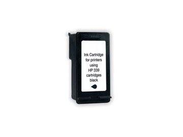 BULK HP 339 HC black - refil inkoustová náplň černá (black) - C8767E