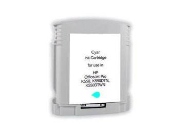 BULK HP C9386AE, inkoustová náplň č. 88 azurová (cyan)
