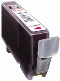BULK Canon CLI-521M (CLI521M, CLI 521 M) - purpurová/červená/růžová (magenta)