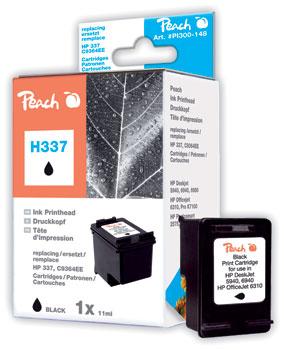 PI300-148 | Peach HP 337 black - inkoustová náplň černá kompatibilní s C9364EE