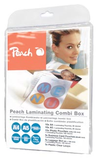 PPC500-001 | Peach Laminating Combi Box