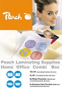 PPC500-02 | Peach Laminating Combi Box