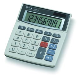 Peach Desktop Display Calculators 1004 SE PR660