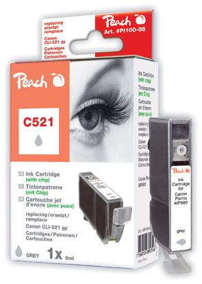 PI100-86 | Peach Canon CLI-521G - šedá