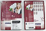 R0400.1123B | RayFilm lesklé průhledné polyesterové laser etikety (210x297) - A4 - 50 listů