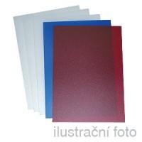 Fólie GBC POLYCLEARVIEW, A4/50ks, červená, 450 µm