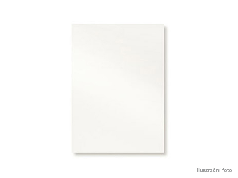 GBC Karton leštěný, A4/100ks, bílá