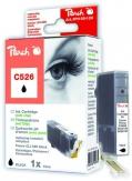 PI100-128 | Peach Canon CLI-526 bk (CLI526, CLI 526, C526) foto černá (photo black) s čipem (chip)