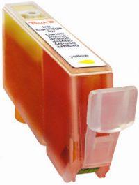 BULK Canon CLI-526 y (CLI526, CLI 526, C526) žlutá (yellow) s čipem (chip)