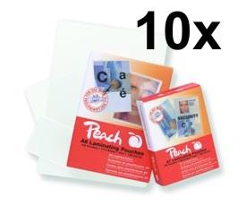 PP580-02 x10 | Peach Laminovací kapsy A4 (216x303mm) - 80 μm (50/30) - 10x 100 ks