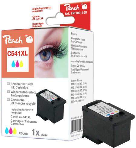 PI100-158 | Peach Canon CL-541XL, inkoustová náplň barevná (color)