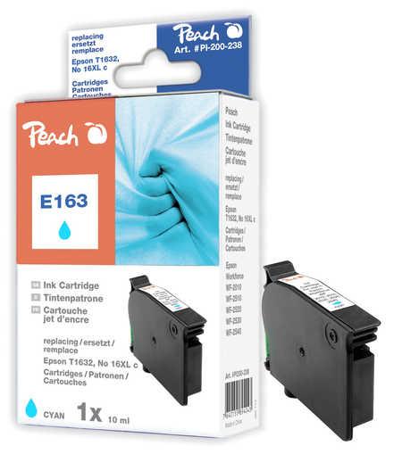 PI200-238 | Peach Epson T1632, T163 azurová (cyan) kompatibilní