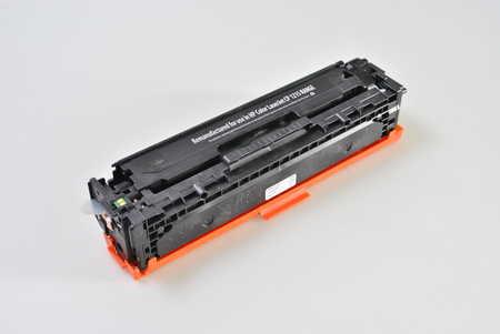 BULK renovovaný černý toner kompatibilní s HP CB540A