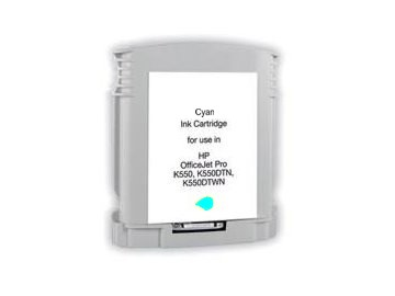 BULK HP C9386AE, inkoustová náplň č. 88 XL azurová (cyan)