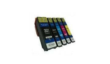 BULK Sada inkoustových náplní Epson No.26XL, kompatibilní s T2616 a T2636