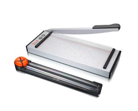 PC100-18 | Řezačka Peach 5 v 1 Multifunkční Cutter/Trimmer A4 kolečková, páková