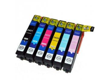 BULK Sada inkoustových náplní Epson No.24XL, kompatibilní s T2438 (T2431-T2436)