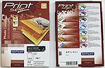 R0215.CA07GA3 | RayFilm Lesklý inkjet kalendář s kroužky, na výšku - 13 listů A3