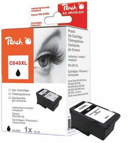 PI100-224 | Peach Inkoustová náplň Canon PG545XL black