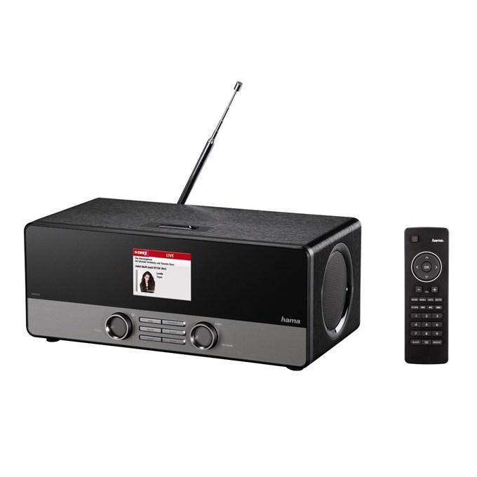 Hama digitální rádio DIR3100, DAB+, internetové rádio, FM/A, černé