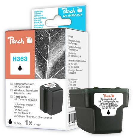 PI300-297 | Peach HP C8721EE, No. 363 XL inkoustová náplň černá (black)