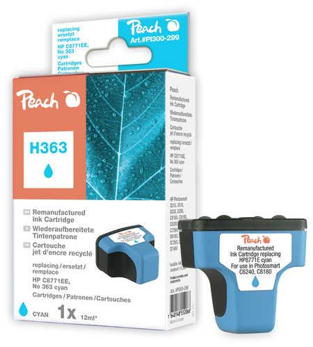 PI300-299 | Peach HP C8771EE, No 363 - inkoustová náplň azurová (cyan)