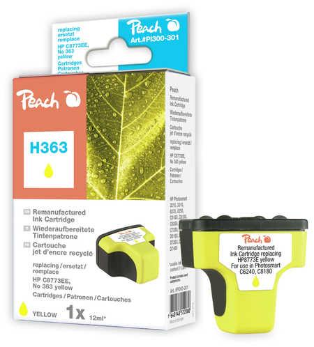 PI300-301 | Peach HP C8773EE, No 363 inkoustová náplň žlutá ( yellow)