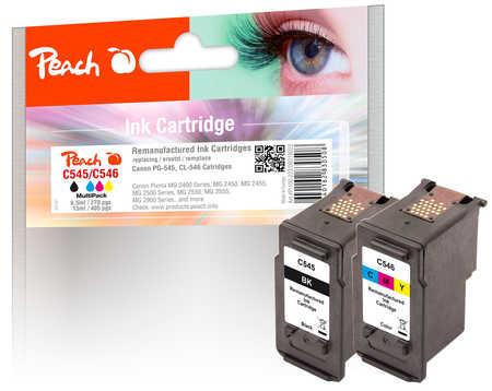 PI100-223 | Sada Peach Multi-Pack, kompatibilní s Canon PG-545 / CL-546