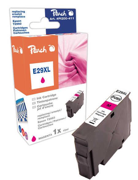 PI200-411 | Peach Kompatibilní náplň EPSON č 29XL T2993 (T299340) purpurová (magenta)