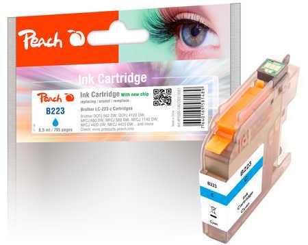 PI500-146 | Peach Inkoustová náplň, kompatibilní s Brother LC-223C - azurová
