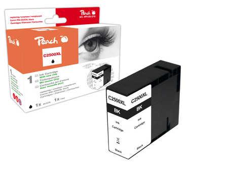 PI100-278 | Peach Canon MAXIFY PGI-2500XLBK, černá (black) s čipem