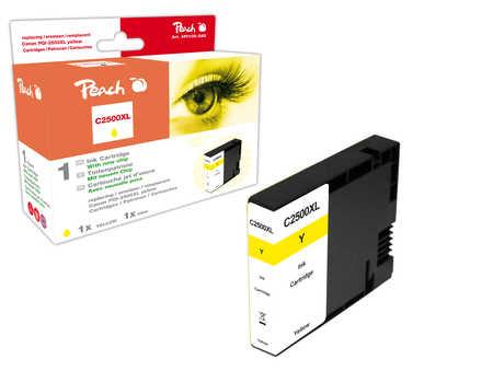PI100-282 | Peach Canon MAXIFY PGI-2500XLY, žlutá (yellow) s čipem