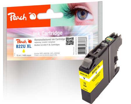 PI500-209 | Peach Inkoustová náplň, kompatibilní s Brother LC-22U XL - žlutá (yellow)