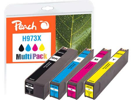 PI300-750   Peach Multi-Pack sada tonerů kompatibilních s HP č 973X