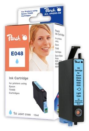 PI200-58 | Ink. náplň Peach kompatibilní s Epson T0485 - fotoazurová (cyan)