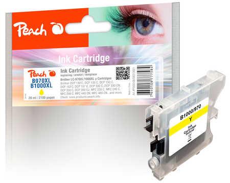 PI500-08 | Peach Brother LC-970 / LC-1000 yellow kompatibilní