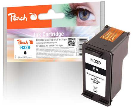 PI300-106 | Peach HP C8767E, No 339 inkoustová náplň černá (black)