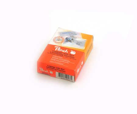 Peach Laminovací kapsy Luggage w/slot - 125 μm (50/75) PP525-11 - 100 ks