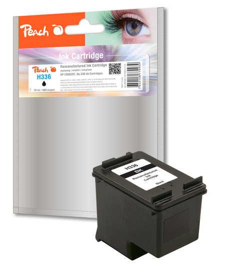 BULK HP 336 refil - inkoustová náplň černá (black) - C9362E - HP 336 refil