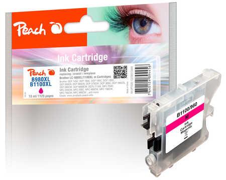 PI500-13 | Peach Brother LC-980 / LC-1100 (LC980, LC 980, B980, LC1100, LC 1100, B1100) purpurová/červená (red)