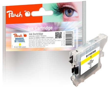 PI500-14 | Peach Brother LC-980 / LC-1100 (LC980, LC 980, B980, LC1100, LC 1100, B1100) žlutá (yellow)